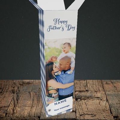 Picture of 1. Large Photo, Father's Day Design, Upright Bottle Box