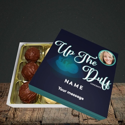 Picture of Up The Duff, Pregnancy Design, Choc 9