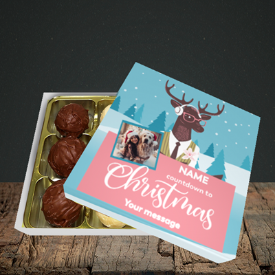 Picture of Countdown, Christmas Design, Choc 9