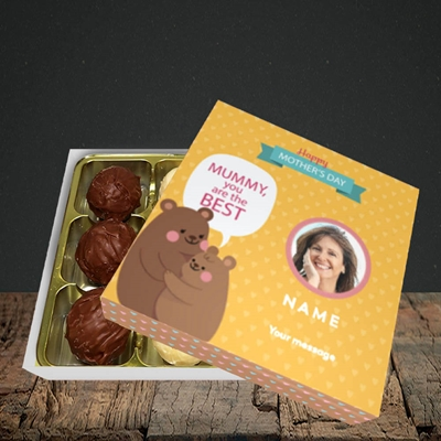Picture of Mummy You Are The Best Bear, Mother's Day Design, Choc 9