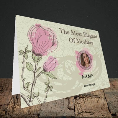 Picture of Elegant Mothers, Mother's Day Design, Landscape Greetings Card