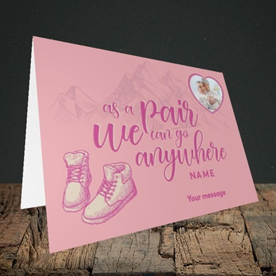 Picture of Anywhere, Valentine's Design, Landscape Greetings Card