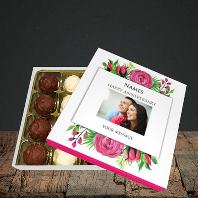 Picture of Flowers, Anniversary Design, Choc 16