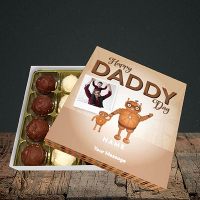 Picture of Daddy Robot, Father's Day Design, Choc 16