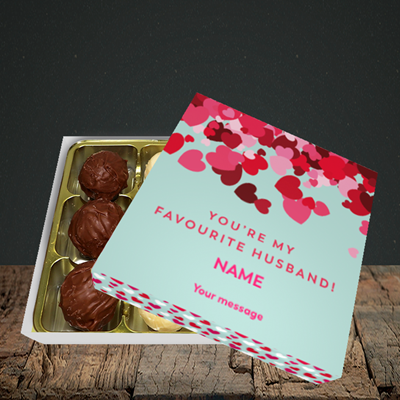 Picture of Favourite Husband(Without Photo), Valentine Design, Choc 9