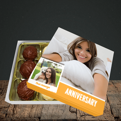 Picture of Photo, Anniversary Design, Choc 9