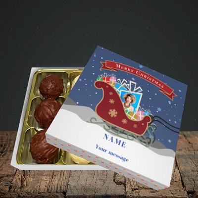 Picture of Sleigh Of Presents, Christmas Design, Choc 9