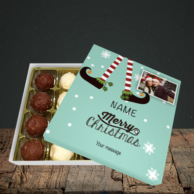 Picture of Elf, Christmas Design, Choc 16