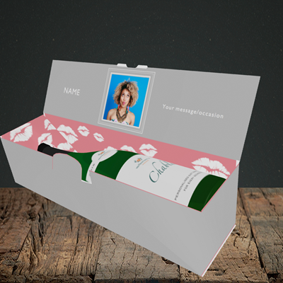 Picture of Glam, Birthday Design, Lay-down Bottle Box