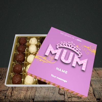 Picture of The Queen(Without Photo), Mother's Day Design, Choc 25