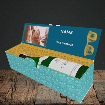 Picture of Wingman, Wedding Design, Lay-down Bottle Box