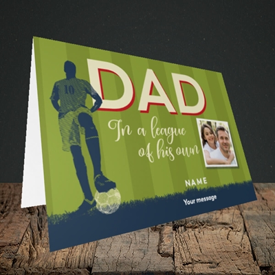 Picture of League Of His Own, Father's Day Design, Landscape Greetings Card