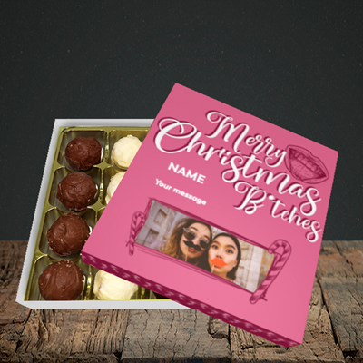 Picture of Merry Christmas Bitches, Christmas Design, Choc 16