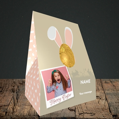 Picture of Hoppy Polaroid, Easter Design, Large Egg