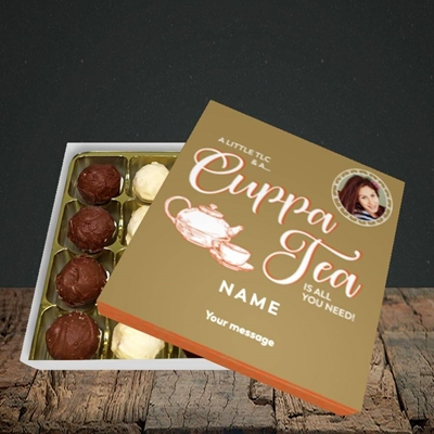 Picture of Cuppa Tea, Get Well Soon Design, Choc 16