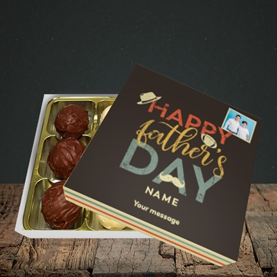 Picture of Retro, Father's Day Design, Choc 9