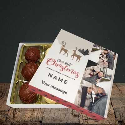 Picture of Our First Christmas, Christmas Design, Choc 9