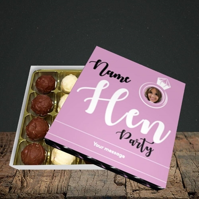 Picture of Hen Party Purple, Wedding Design, Choc 16