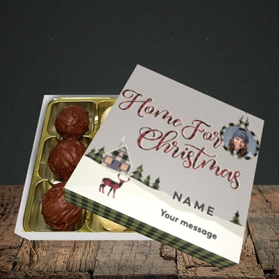 Picture of Home For Christmas, Christmas Design, Choc 9