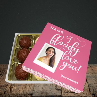 Picture of I Bloody Love You, Valentine's Design, Choc 9