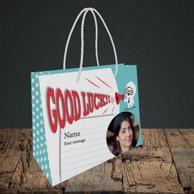 Picture of Shout, Good Luck Design, Small Landscape Gift Bag