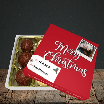 Picture of 2. A Merry Christmas Polaroid, Christmas Design, Choc 9