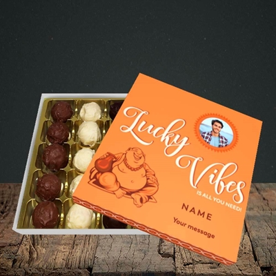 Picture of Lucky Vibes, Good Luck Design, Choc 25