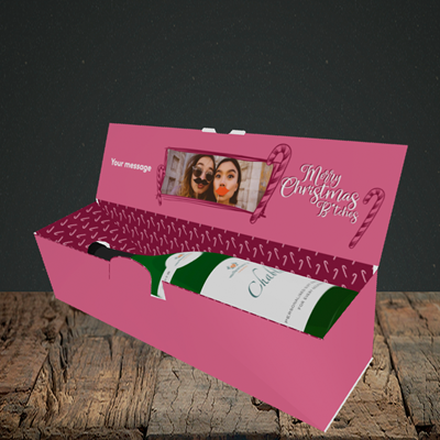 Picture of Merry Christmas Bitches, Christmas Design, Lay-down Bottle Box