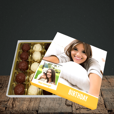 Picture of Photo, Birthday Design, Choc 25