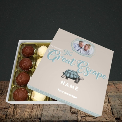 Picture of The Great Escape, Retirement Design, Choc 16