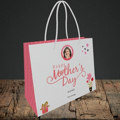 Picture of Happy Mother's Day Gifts, Small Landscape Gift Bag
