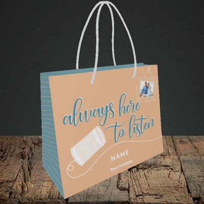 Picture of Always Here, Thinking of You Design, Small Landscape Gift Bag