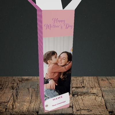 Picture of 1. Large Photo, Mother's Day Design, Upright Bottle Box