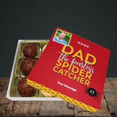 Picture of Spider Catcher, Father's Day Design, Choc 9