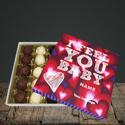 Picture of I Feel You Baby(Without Photo), Valentine's Design, Choc 25