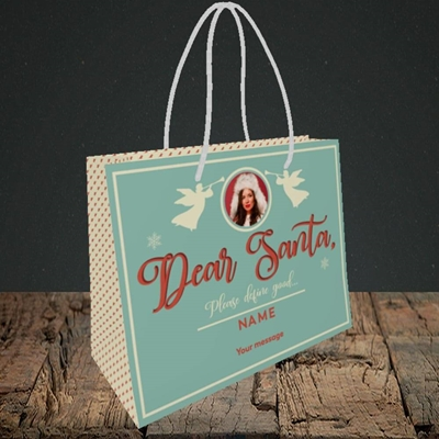 Picture of Define Good, Christmas Design, Small Landscape Gift Bag
