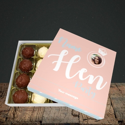 Picture of Hen Party Peach, Wedding Design, Choc 16