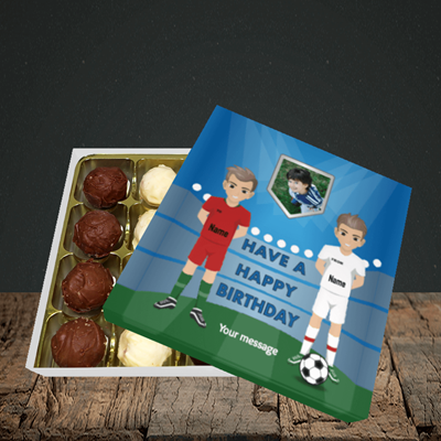 Picture of Football, Birthday Design, Choc 16
