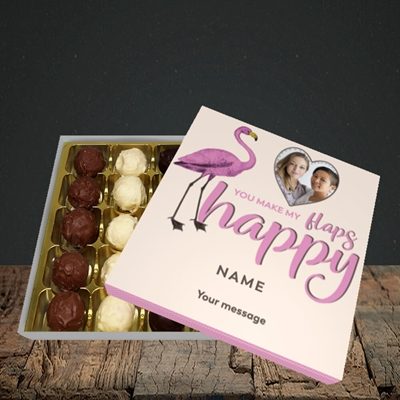 Picture of Happy Flaps, Valentine's Design, Choc 25