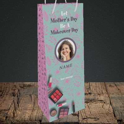 Picture of Makeover Day, Mother's Day Design, Bottle Bag