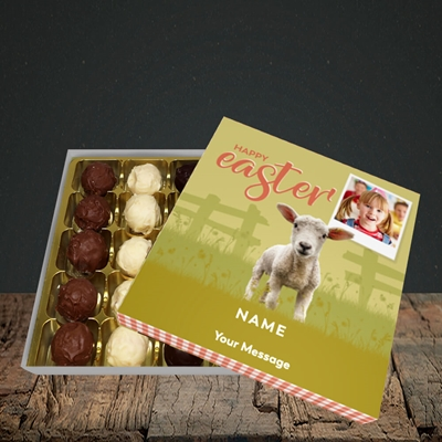 Picture of Lamb To See You, Easter Design, Choc 25