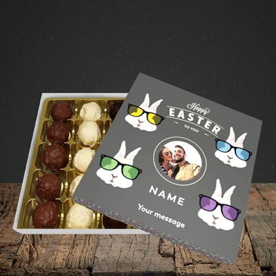 Picture of Hipster Bunnies, Easter Design, Choc 25