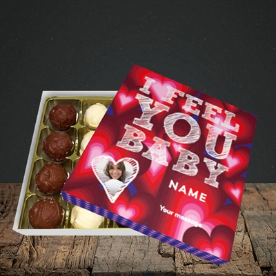 Picture of I Feel You Baby, Valentine's Design, Choc 16