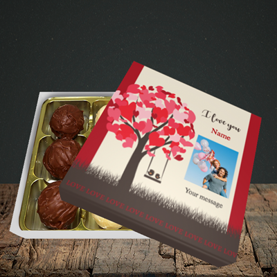 Picture of Lovebirds, Valentine Design, Choc 9