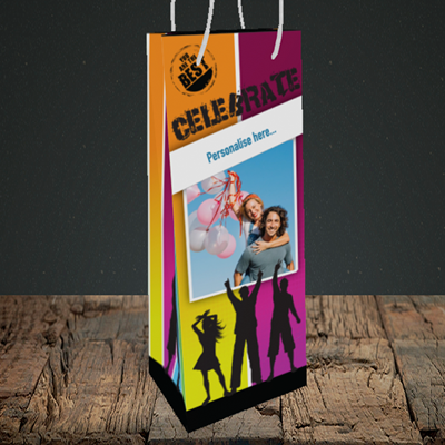Picture of Silhouette, Celebration Design, Bottle Bag