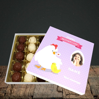 Picture of Hen & Chick, Mother's Day Design, Choc 25