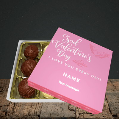 Picture of Sod Valentine's Day, (Without Photo) Valentine Design, Choc 9