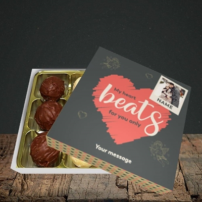 Picture of Beats For You, Valentine's Design, Choc 9