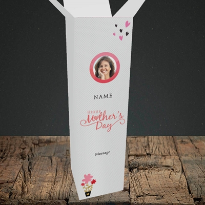 Picture of Happy Mother's Day Gifts, Upright Bottle Box