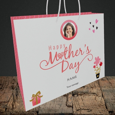 Picture of Happy Mother's Day Gifts, Medium Landscape Gift Bag